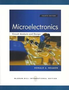 Microelectronics: Circuit Analysis and Design 4/e