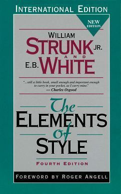 The Elements of Style 4/e